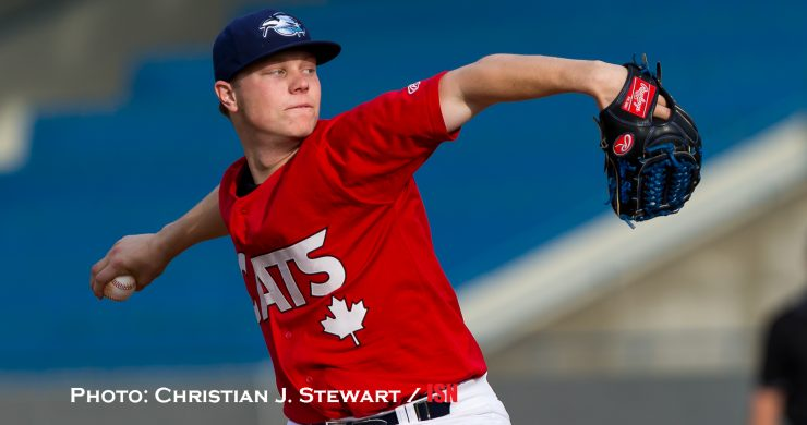 May 31, 2016, Victoria, BC - The Victoria HarbourCats host the Victoria Eagles Alumni in a West Coast League exhibition game Tuesday night at Royal Athletic Park in Victoria.  The HarbourCats would come away with a 8-6 win.  All Photos Copyright Christian J. Stewart and Christian J. Stewart Photography 2016. NO UNPAID USE without the express written consent of the photographer.  Telephone: 250-744-7277; E-Mail cjsphoto@shaw.ca