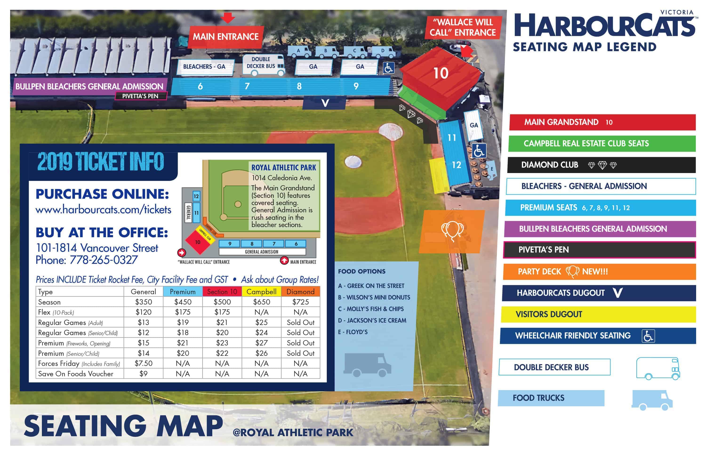Victoria Harbourcats Tickets